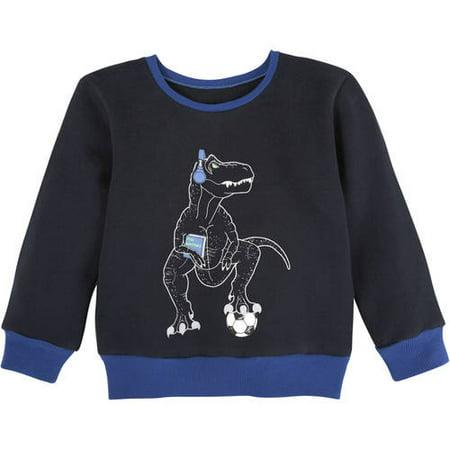 5ad7d6120986 G-Cutee - Boys Dinosaur Sweater - Walmart.com
