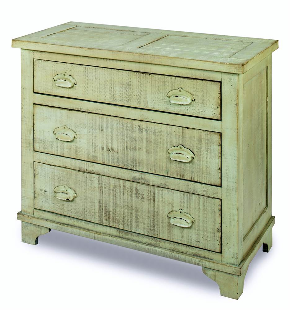 Industrial Chest in Mint Green