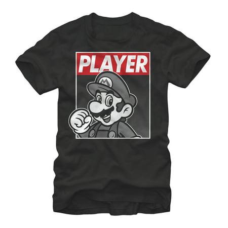Nintendo Men's Mario Player T-Shirt
