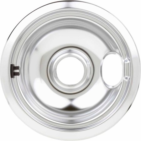 Genuine Drop (Frigidaire Burner Drip Bowl, Chrome For 6