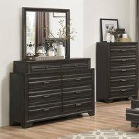 Roundhill Furniture Loiret 8 Drawer Dresser