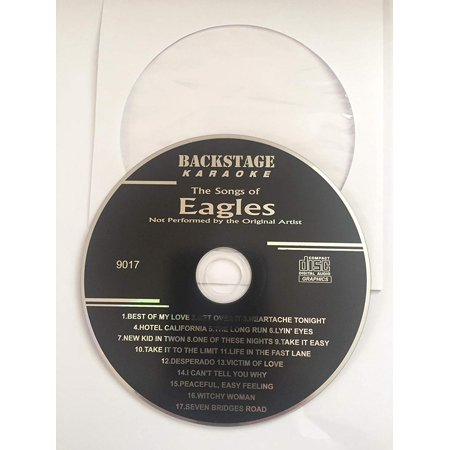 Greatest Hits of THE EAGLES Backstage Karaoke CDG Disc ()
