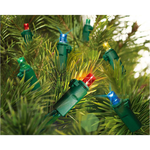 Holiday Time 180-Count LED String Lights, Multi-Color