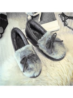 Women Plush Shoes Warm Soft Winter Snow Boots Casual Low Upper All-match  Shoes Women s 0c9820f51c48
