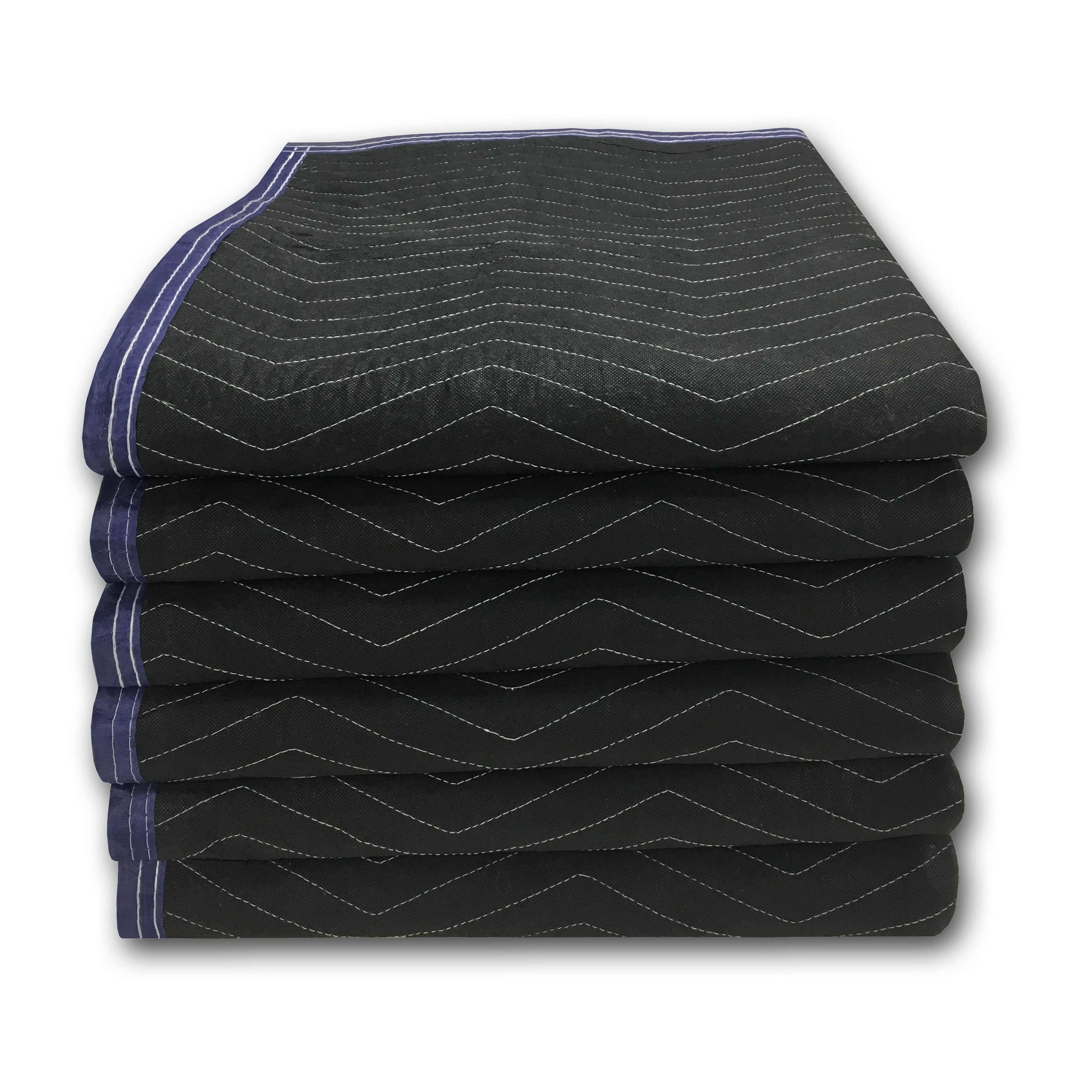 Uboxes Performance Moving Blankets, 72 x 80 in, 4.5lbs each, 6 Pack