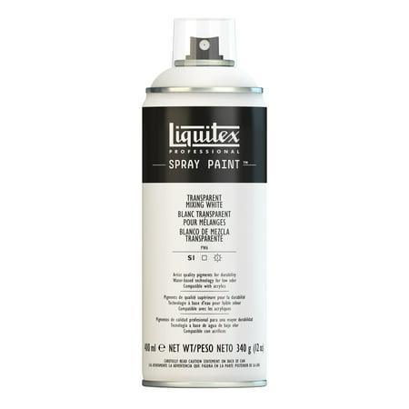 Liquitex Professional Spray Paint, 400ml, Transparent Mixing White