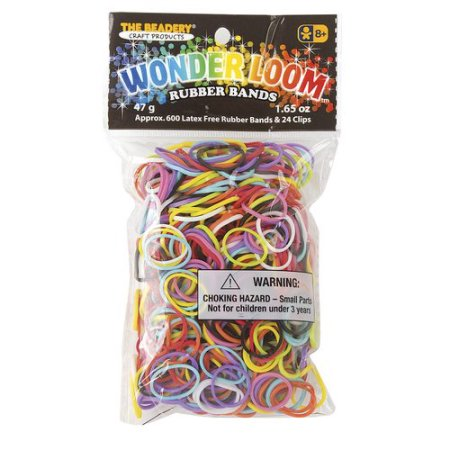 Multi Color rubber bands for the Wonder Loom from The Beadery