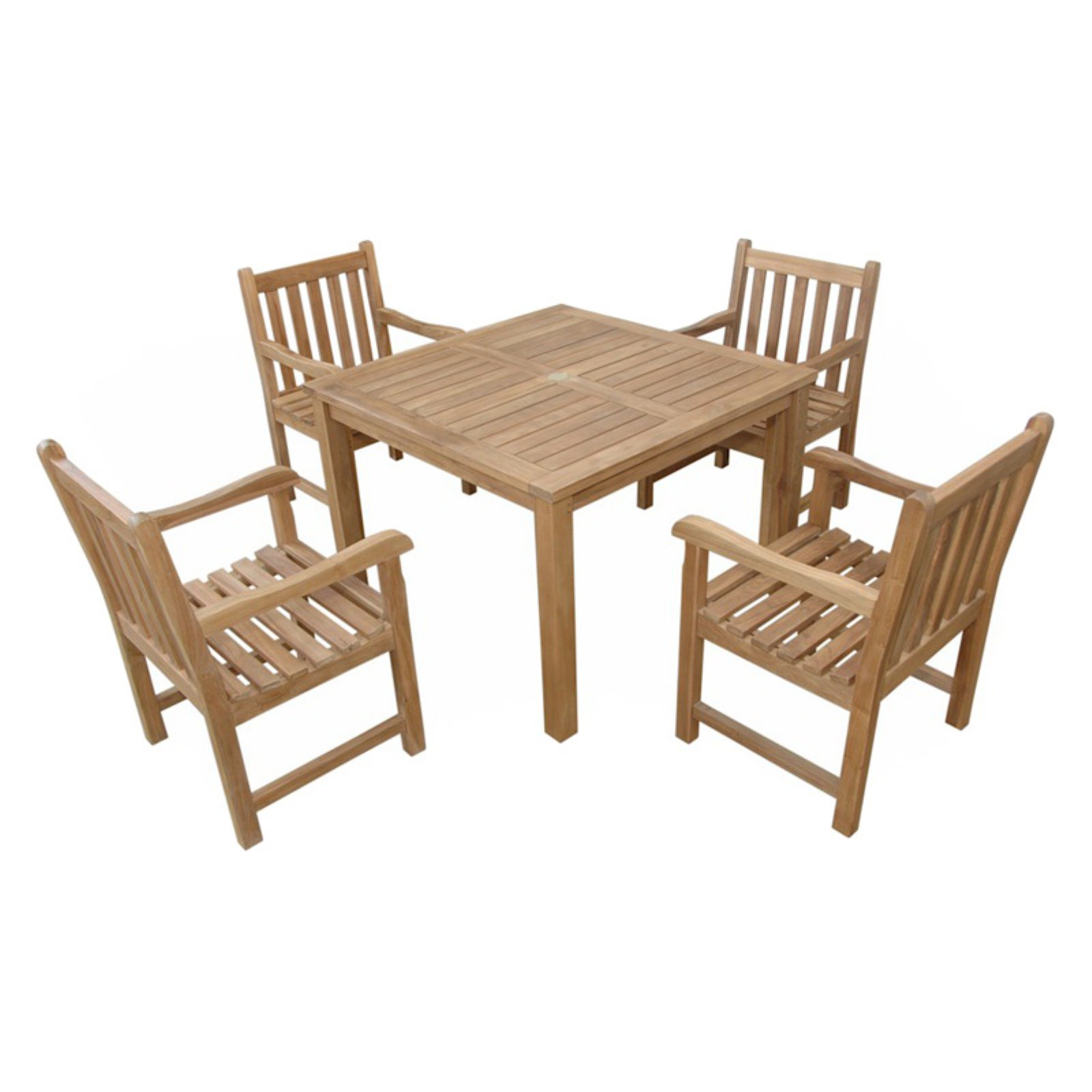 Anderson Teak Braxton Patio Dining Room Set by Anderson