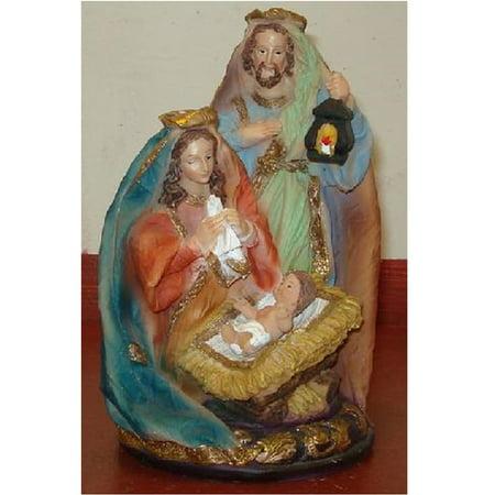 Holy Family Religious Nativity Scene Figurine 8 x3 Inch New