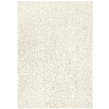 Mainstays Solid Olefin Shag Area Rug or Runner Collection ()