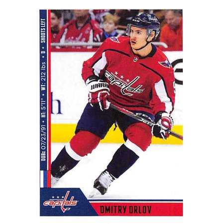 2018-19 Panini NHL Stickers #259 Dmitry Orlov Washington Capitals Hockey Card