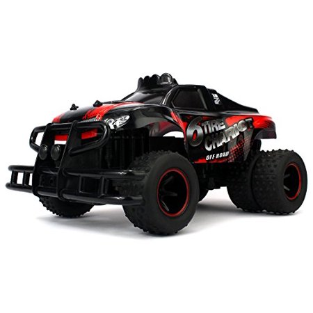 Velocity Toys 6 Tire Chariot Remote Control Rc High Performance Truggy  2 4 Ghz Control System  Big Size 1 10 Scale  Colors May Vary