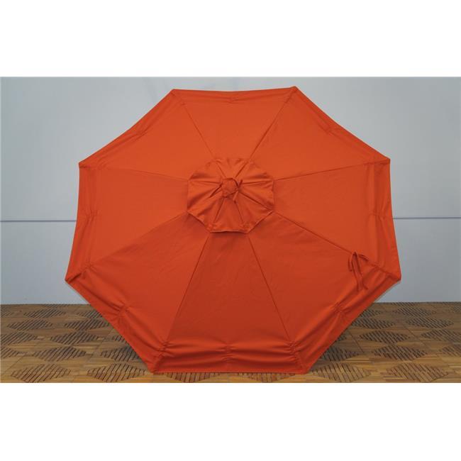 Shade Trends URC-98-TC Universal Replacment Umbrella Canopy - Terra Cotta
