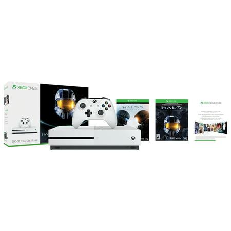 500GB Xbox One S Halo Bundle