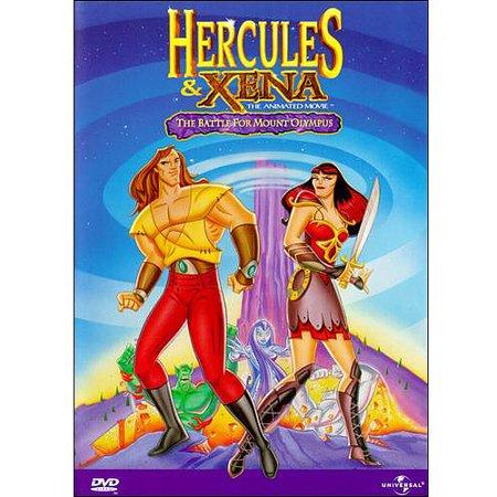 Hercules & Xena: The Animated Movie - Animated Halloween Movies