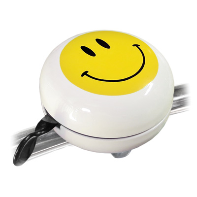 CLN MOTION BIG DING DONG SMILE WHITE W/YELLOW SMILEY FACE ...