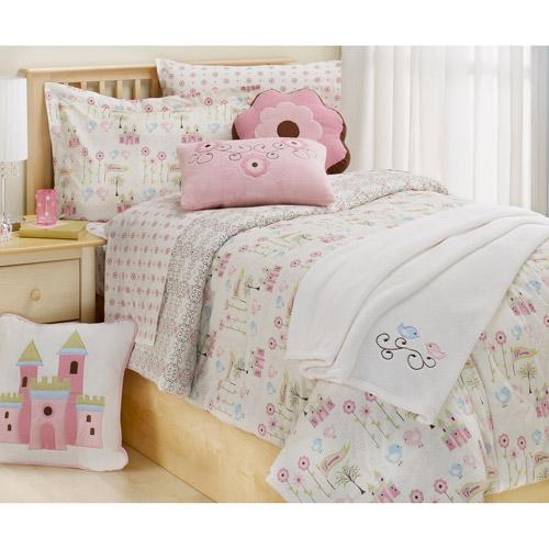 BKids Princess Reversible Comforter, Twin