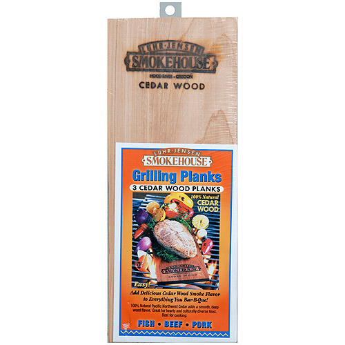 Smokehouse Cedar Grilling Planks, 3-Pack