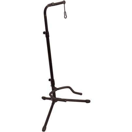 ChromaCast Upright Guitar Stand 2-Tier Adjustable, Extended Height - Fits Acoustic, Electric, Bass, and Extreme Body Shaped Guitars Guitar Controller Stand
