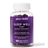 Glow Habit Sleep Well Habit Gummy Vitamins, 60 Count