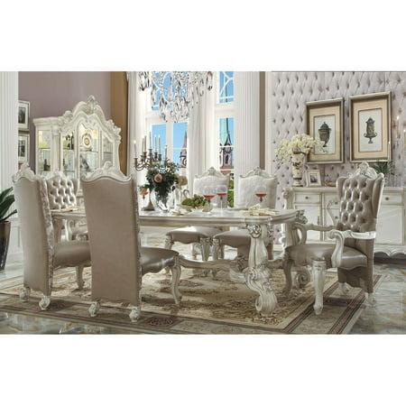 Acme Furniture Versailles Rectangular Trestle Dining Table ()