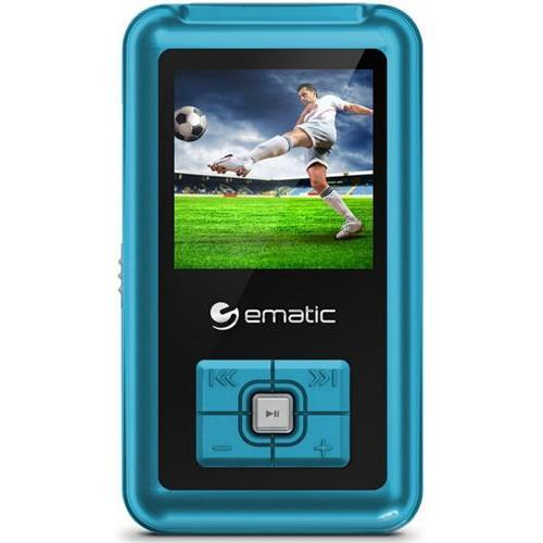 "EMATIC 1.5"" MP3 Video Player Blue"