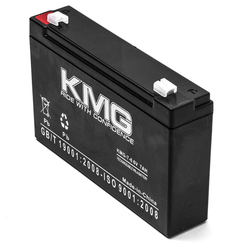 KMG 6V 7Ah Replacement Battery for Kung Long WP8-6S - image 1 of 3