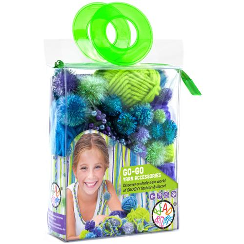 Go Go Yarn Accessories Kit Grape Lime