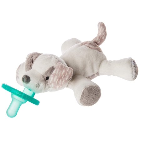 Mary Meyer WubbaNub Newborn Infant Baby Soothie Pacifier ~ Decco Pup Newborn Soothie Soother