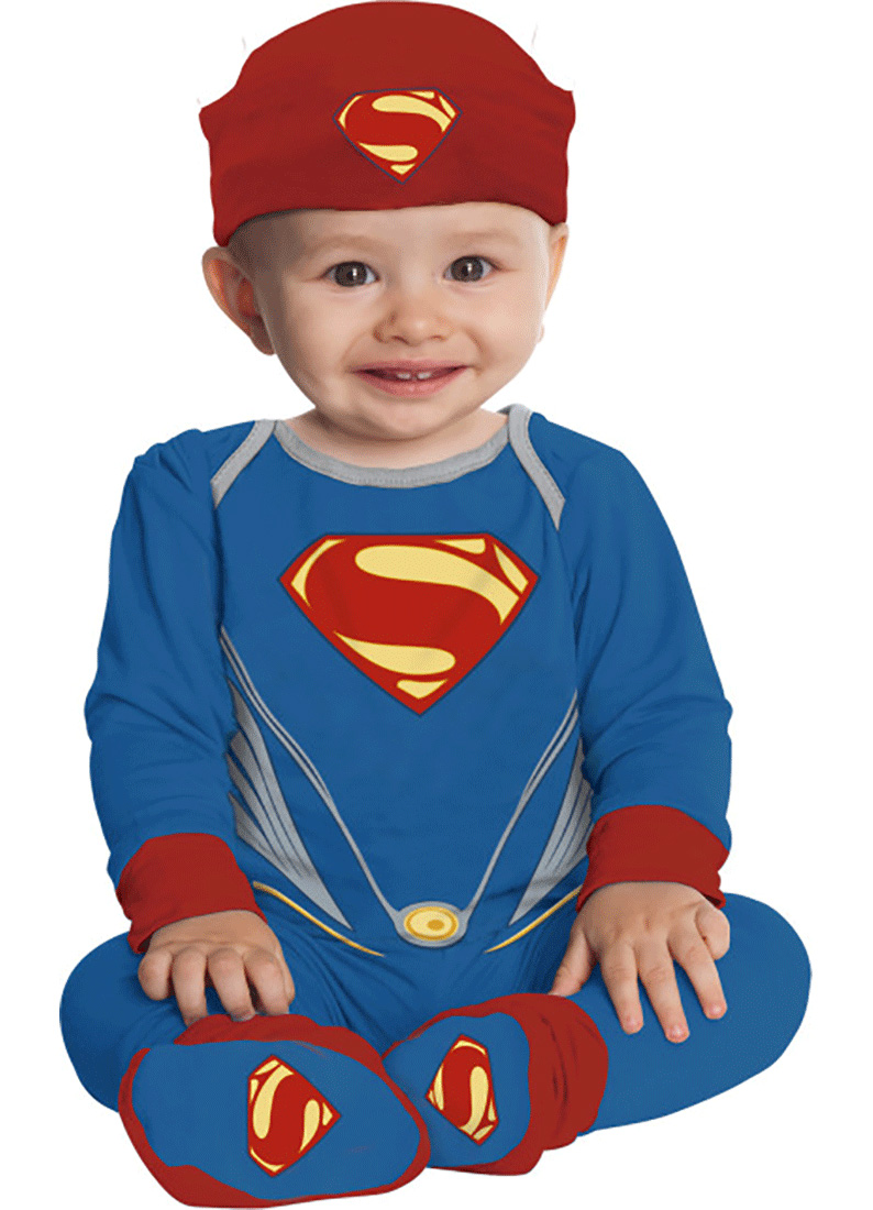 sc 1 st  Walmart & Infant Superman Onesie Costume by Rubies 886691 - Walmart.com