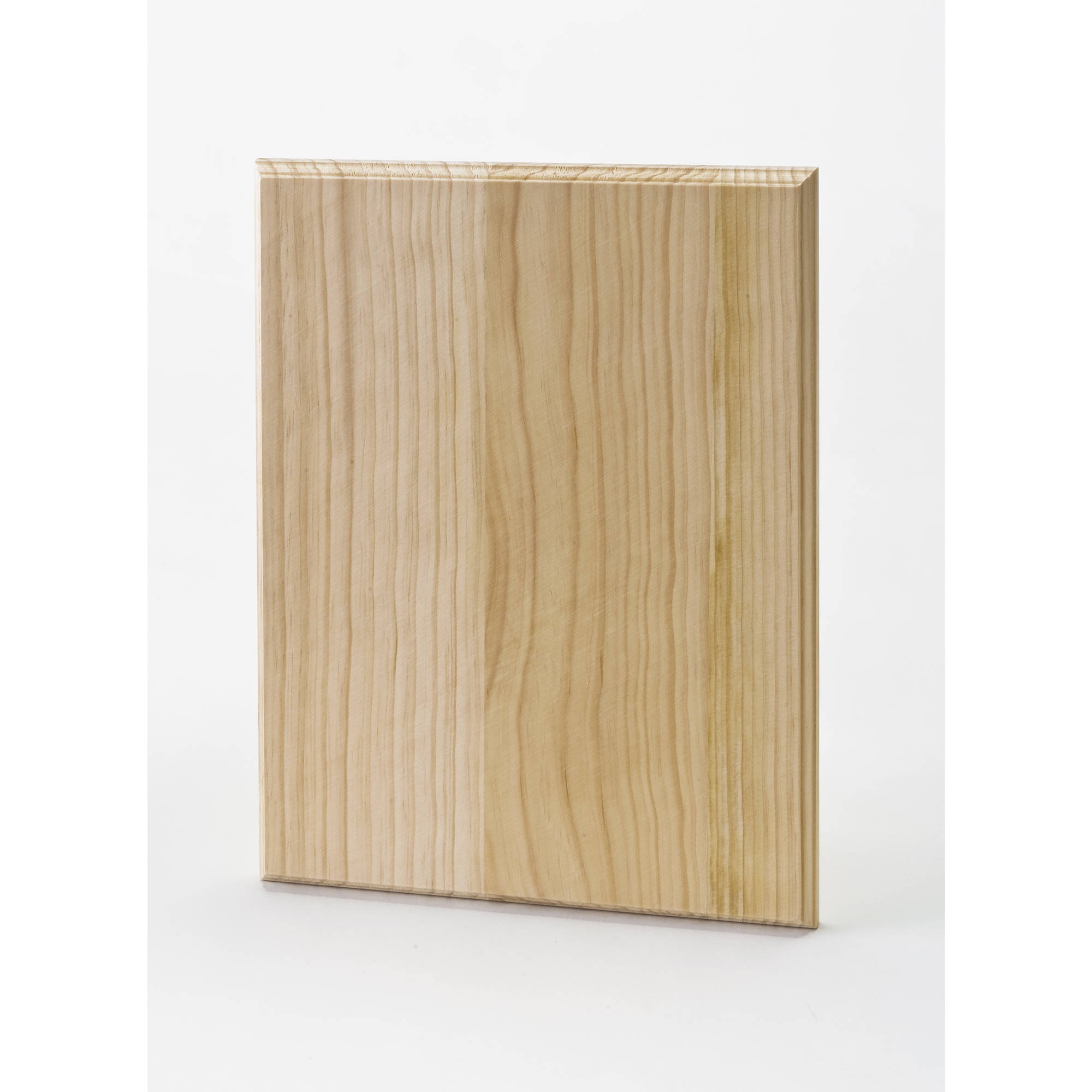 "Plaid Large Rectangle Wood Plaque, 12"" x 9"""
