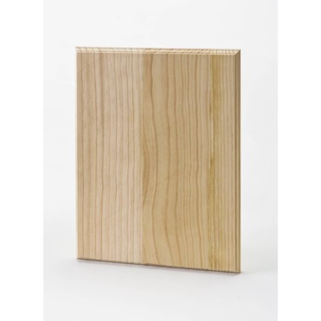 "Plaid Wood 12""x9"" Large Rectangle Plaque"