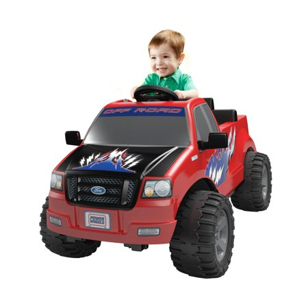 Power Wheels Lil' Ford F150 6V Battery-Powered Ride-On ()