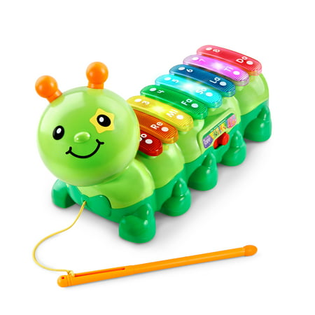VTech Zoo Jamz Xylophone Caterpillar With Three Modes, Green
