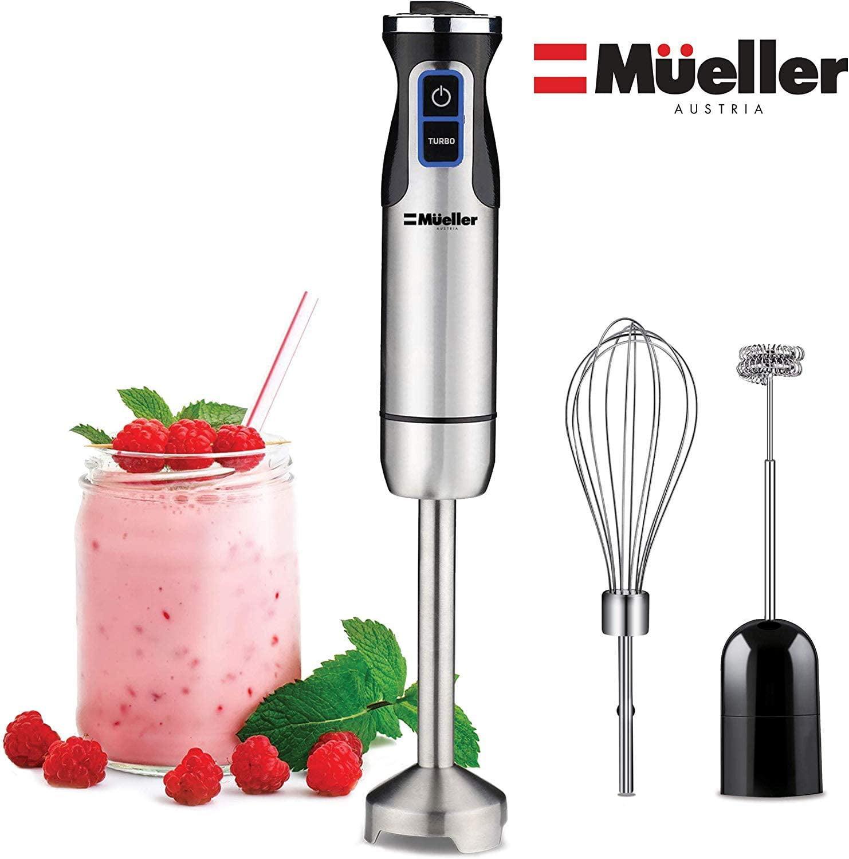 Mueller Ultra-Stick 500 Watt 9-Speed Powerful Immersion Multi-Purpose Hand Blender
