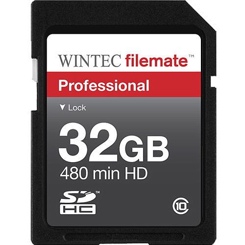 Wintec FileMate 32GB Class 10 Professional SDHC Flash Memory Card