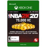 NBA 2K20 75,000 VC, 2K Games, Xbox [Digital Download]