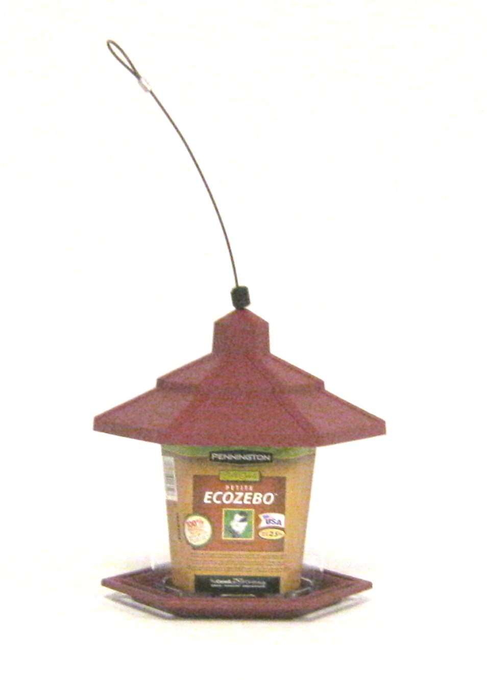 Pennington Wild Birdfeeder, Petite Ecozebo, 2.5 Pound Seed Capacity by Pennington Seed