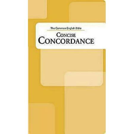 Ceb Concise Concordance - Book Of The Bible