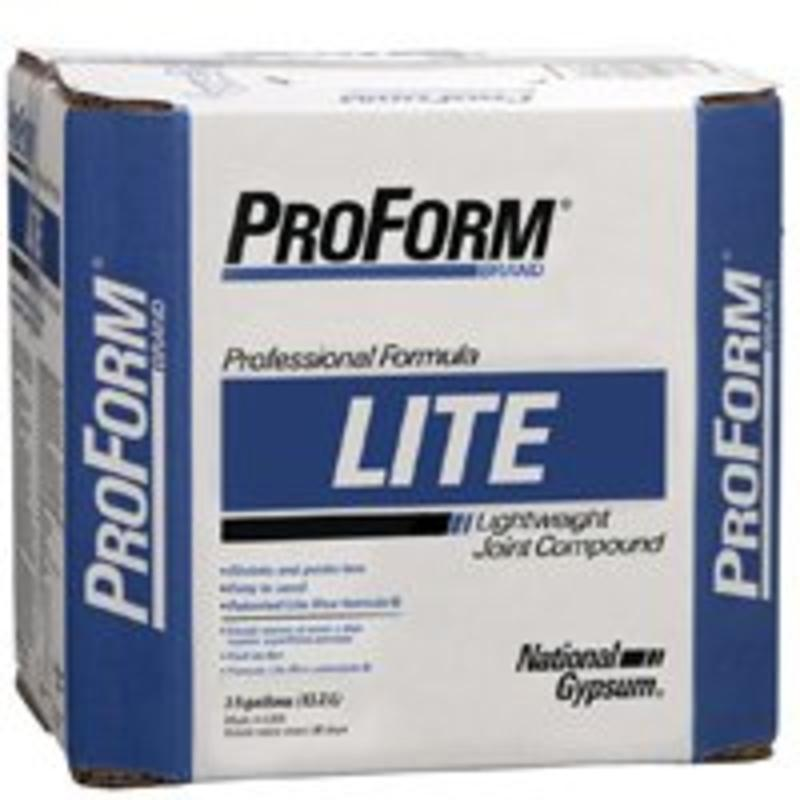 3.5Gal Lite Joint Compound NATIONAL GYPSUM Joint Compound - Ready Mixed JT0081