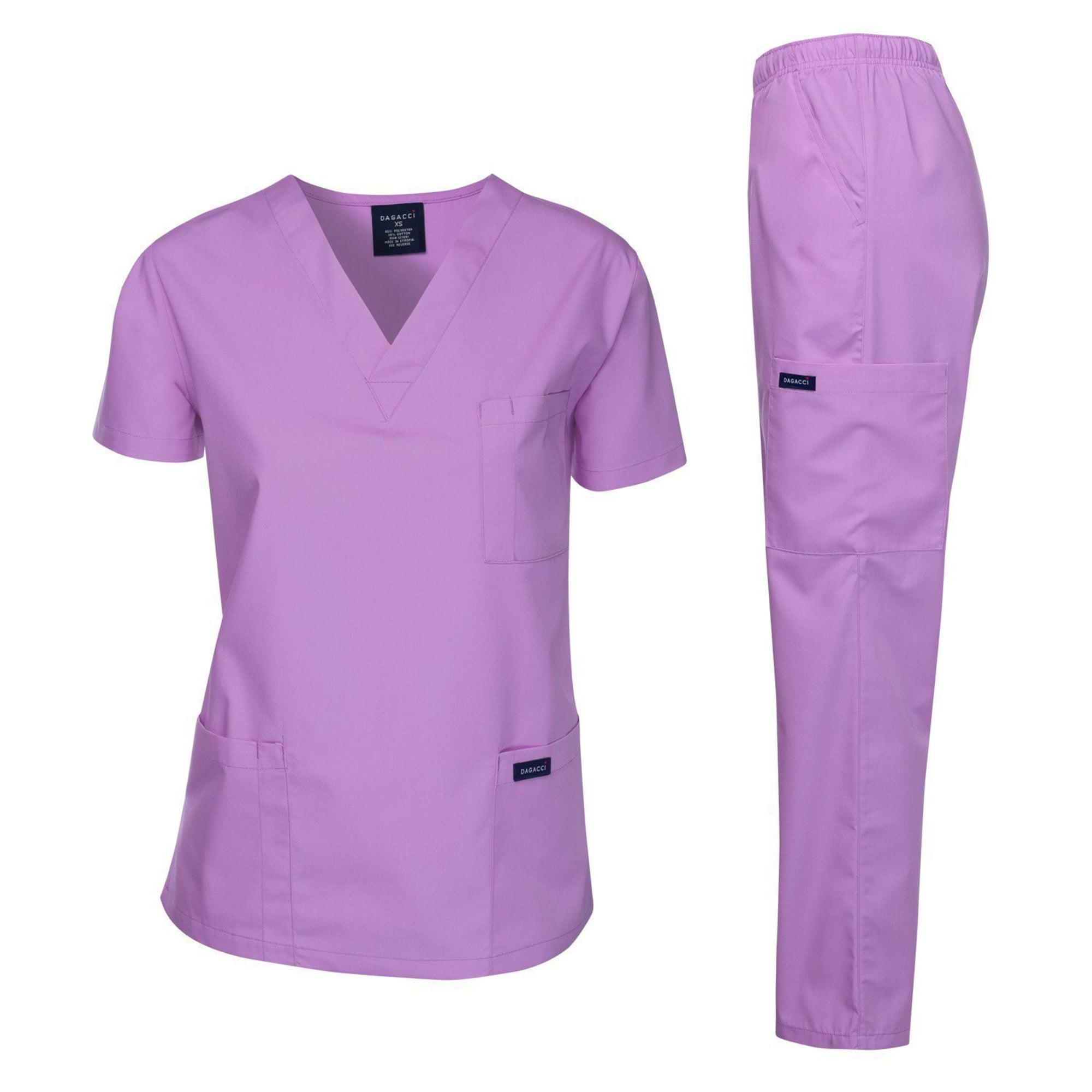 Dagacci Unisex Medical Uniform Scrub Set