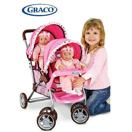 Graco Twin Doll Stroller Walmart Com