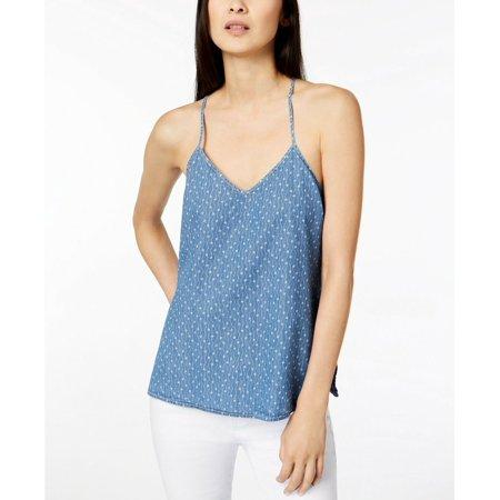 Calvin Klein Jeans Juniors Cotton Printed Tank Top, Bella Dark, Size XL, MSRP $