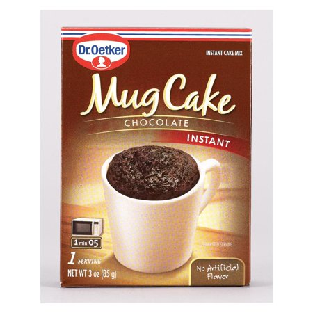 Dr. Oetker Organics Mug Cake Chocolate Instant Cake Mix - pack of 12 - 3 Oz. ()