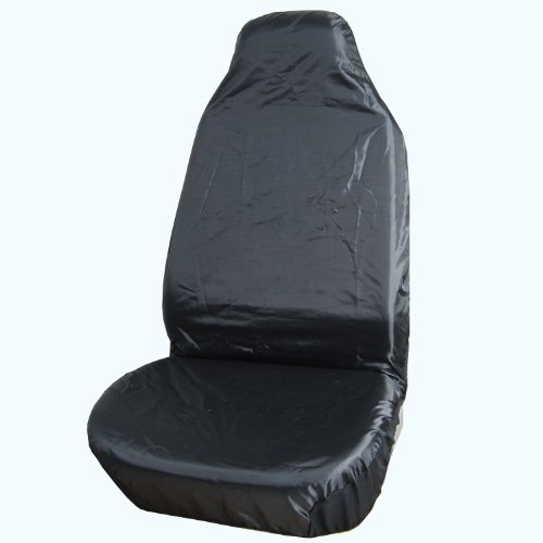 RoyalCraft Set of 2-Piece Car Vehicle Front Seat Covers - Universal Fit,Black Color