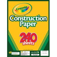"Crayola Construction Paper Pad 9""X12""-240 Sheets"