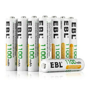 EBL 16-Pack 1.2v AAA Battery Ni-MH 1100mAh Rechargeable Batteries