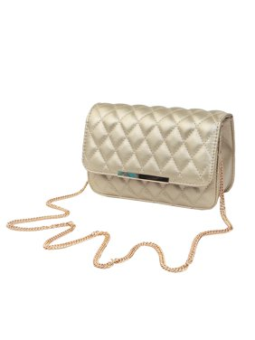 a5cfbb8016 Product Image Classic Smooth Quilted Flap Clutch Handbag Crossbody Shoulder  Bag
