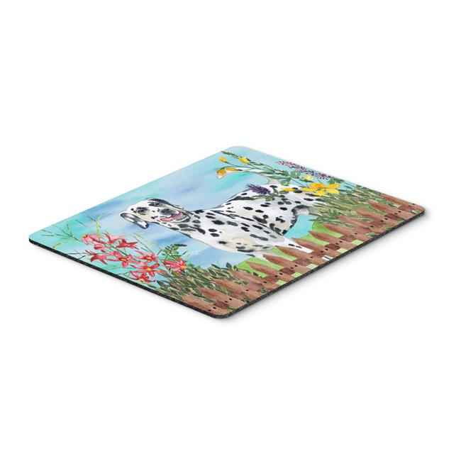 Carolines Treasures CK1215MP Dalmatian Spring Mouse Pad, Hot Pad or Trivet - image 1 de 1