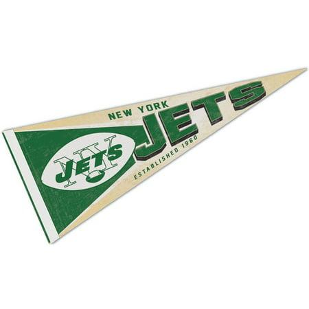 NY Jets Vintage Retro Throwback Pennant